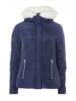 Short Panelled Jacket