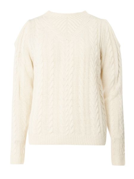 Dorothy Perkins Cold Shoulder Jumper