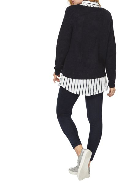 Dorothy Perkins Striped 2in1 Jumper