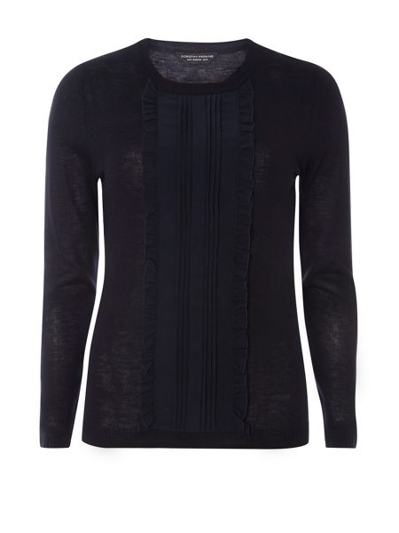 Dorothy Perkins Frill Front Knitted Jumper