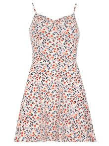 Dorothy Perkins Ditsy Ruched Camisole Dress