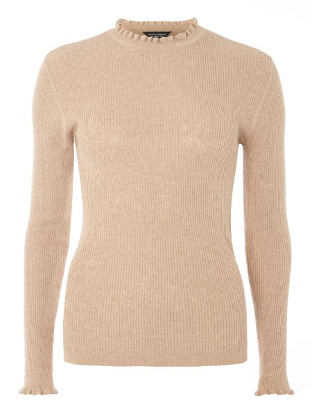 Dorothy Perkins Ruffle Neck Jumper