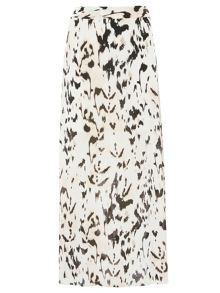 Dorothy Perkins Animal Print Woven Maxi Skirt