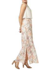 Dorothy Perkins Floral Woven Maxi Skirt