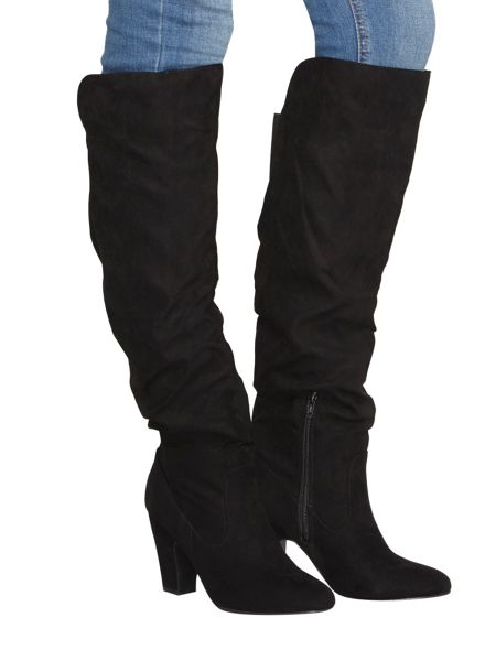 Dorothy Perkins Kiwi Rouched Boots
