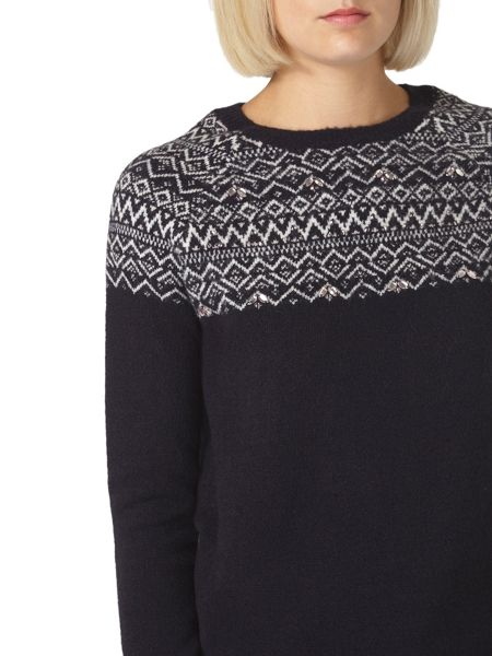 Dorothy Perkins Fairisle Yoke Jumper
