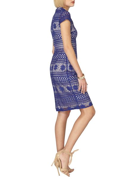 Dorothy Perkins Patched Lace Pencil Dress