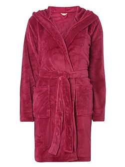 Short Soft Touch Dressing Gown