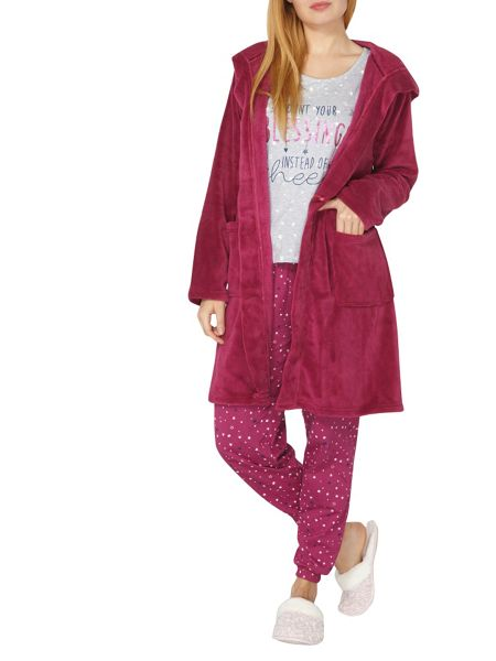 Dorothy Perkins Short Soft Touch Dressing Gown