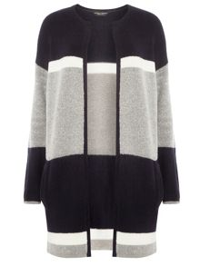 Dorothy Perkins Colour Block Coatigan