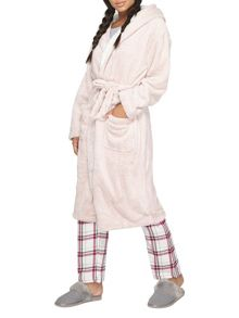 Dorothy Perkins Fox Hooded Dressing Gown