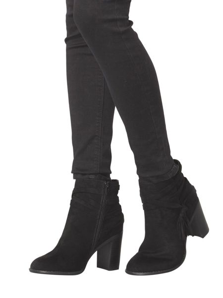Dorothy Perkins Wide Fit Wasp Tassel Boots