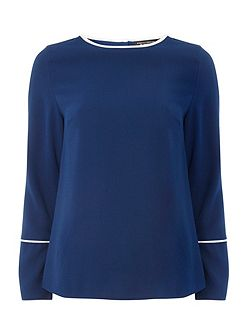 Long sleeve Wide Cuff Top