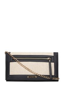 Dorothy Perkins Chevron Clutch