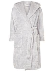 Dorothy Perkins Petite Chevron Dressing Gown