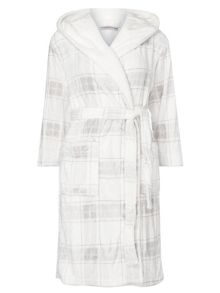 Dorothy Perkins Petite Check Dressing Gown