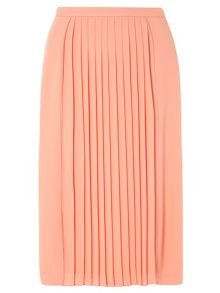 Dorothy Perkins Petite Pleated Midi Skirt