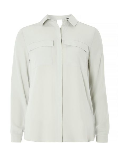Dorothy Perkins Cut Out Back Shirt