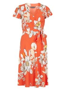 Dorothy Perkins Floral Wrap Dress