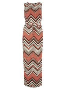 Dorothy Perkins Chevron Eyelt Maxi Dress