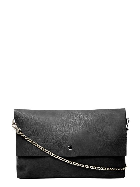 Dorothy Perkins Faux Suede Mix Clutch Bag