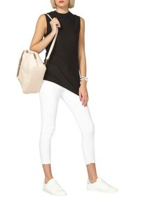 Dorothy Perkins Sleeveless Asymmetric Jumper