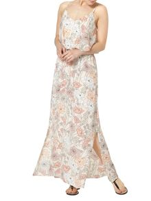 Dorothy Perkins Floral Double Layer Maxi Dress
