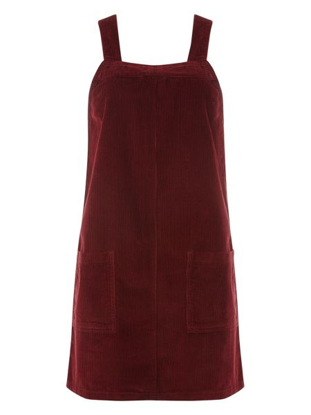 Dorothy Perkins Cord Pinafore Dress