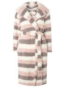 Dorothy Perkins Striped Dressing Gown