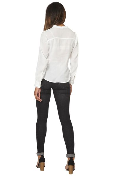 Dorothy Perkins Ruffle Front Blouse