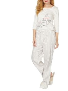 Dorothy Perkins Owl Long Sleeve Pyjama Set