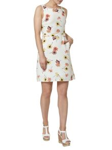 Dorothy Perkins Pansy Printed A Line Pinafore Dress