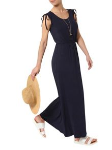 Dorothy Perkins Petite Tie Maxi Dress