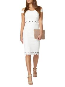 Dorothy Perkins Petite Bardot Dress