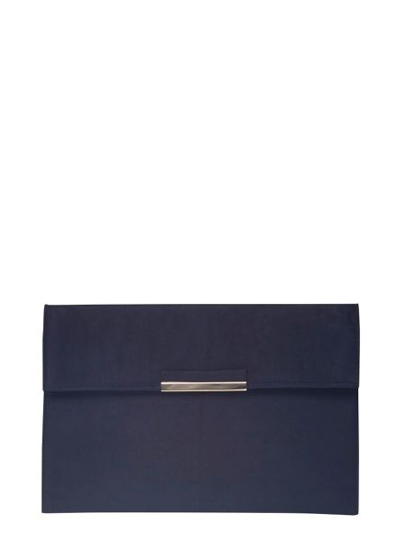 Dorothy Perkins Faux Suede Clutch Bag