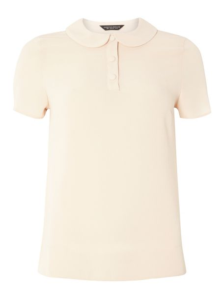 Dorothy Perkins Rounded Collar T-Shirt