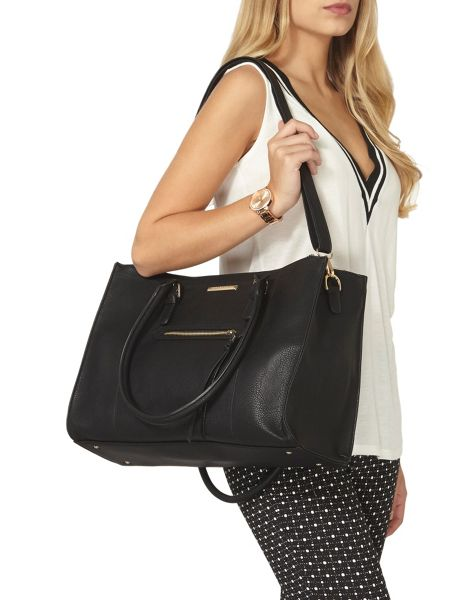 Dorothy Perkins Zip Front Tote Bag