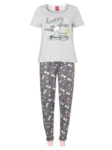 Dorothy Perkins Snoopy Pyjama Set