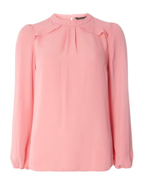 Dorothy Perkins Frill Shoulder Top