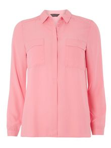 Dorothy Perkins Two Pocket Shirt