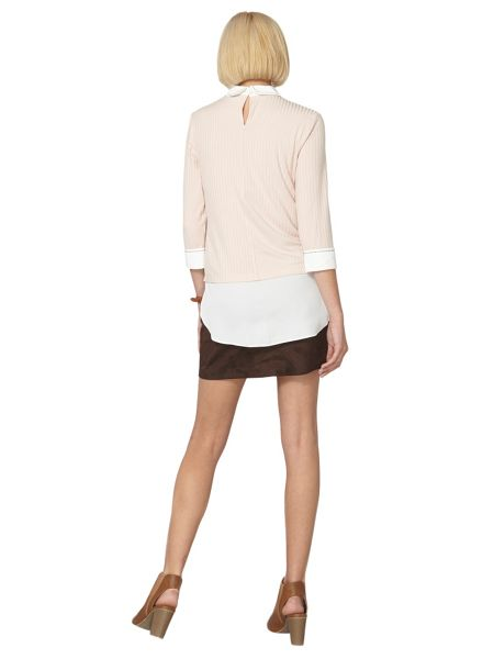 Dorothy Perkins Stab Stitch Shirt