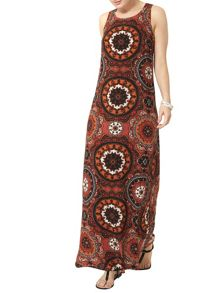 Dorothy Perkins Billie and Blossom Tribal Maxi Dress