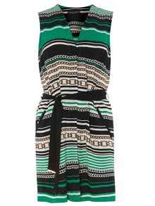 Dorothy Perkins Chain Print Sleeveless Cover Up