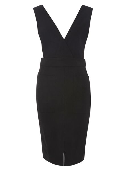 Dorothy Perkins Petite Crepe Pinny Dress