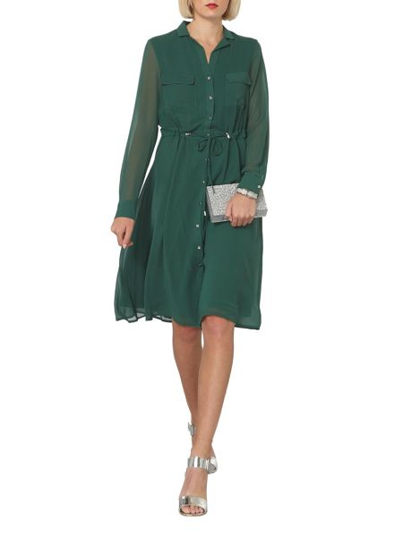 Dorothy Perkins Chiffon Shirt Midi Dress