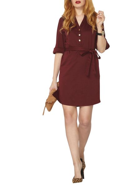 Dorothy Perkins Ponte Shirt Dress