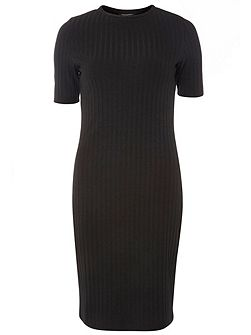 Rib Bodycon Dress
