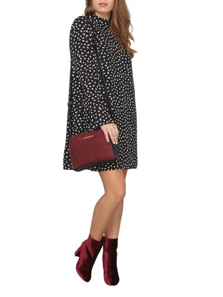 Dorothy Perkins Petite Heart Print Dress