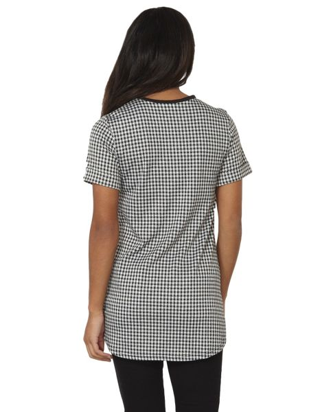Dorothy Perkins Gingham Check Tunic