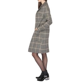 Dorothy Perkins Tall Checked Pow Crombie Coat